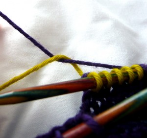Twisting the yarns 2