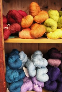 dyeing for yarn