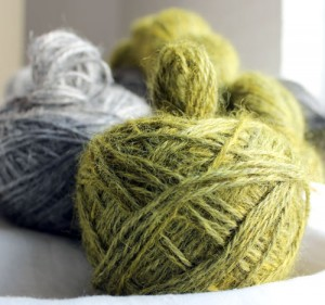 It's about the yarn