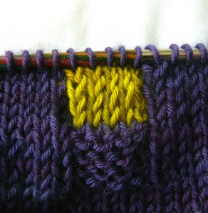 (sort of) intarsia in the round