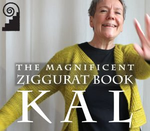 The Magnificent Ziggurat Book KAL