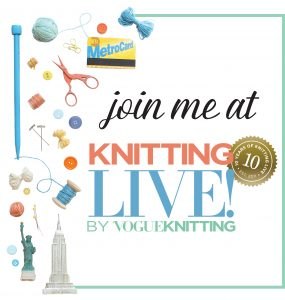 Vogue Knitting Live NYC 2020